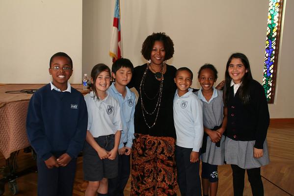 Author Ruby Bridges Visits 3-5-09