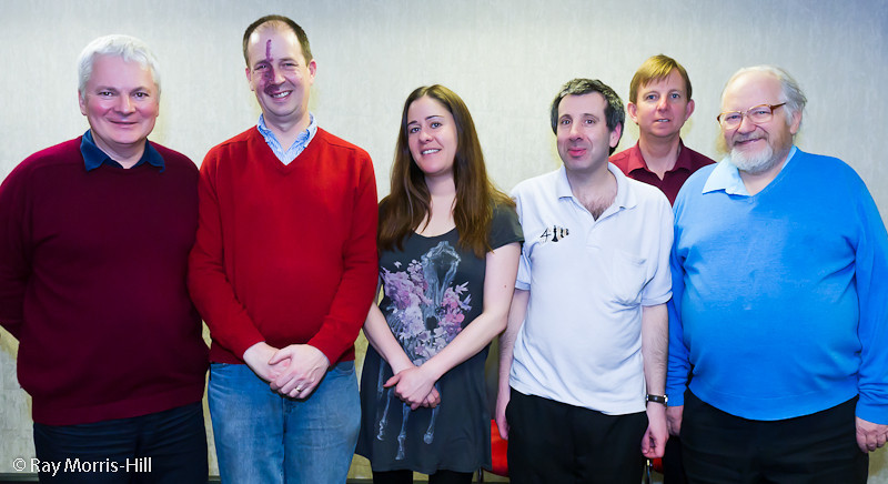 Mike Truran, Alan Kennedy, Claire Summerscale, Neville Belinfante, Tim Onions and David Welch
