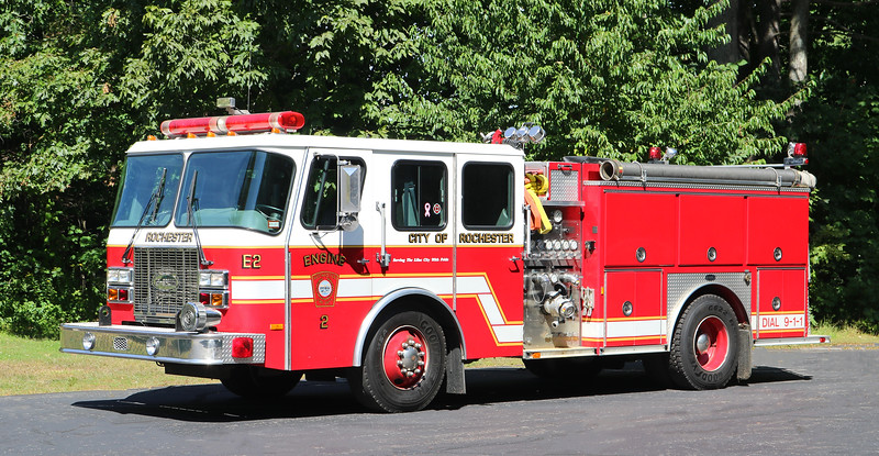 Retired   Engine 2.  1996 E-One Cyclone.  1250 / 1000
