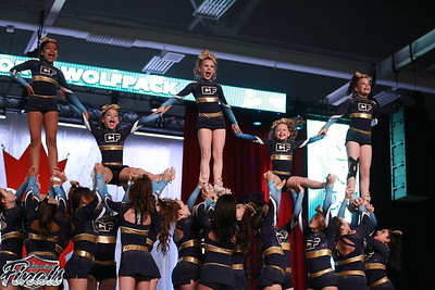 CheerForce WolfPack  Envy - Canadian Finals Level 1