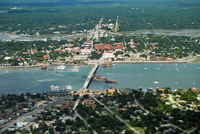 87: St. Augustine, Florida from the Land, Sea, and Air