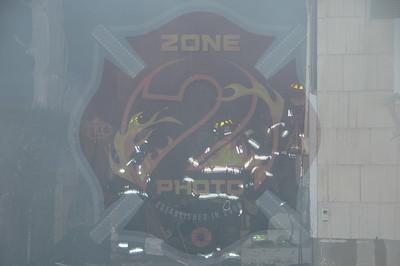 Westbury F.D. Working Fire 639 Broadway 2/27/14