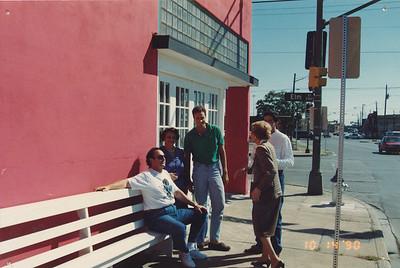 Carmita e Brasilina em Dallas (1980s)