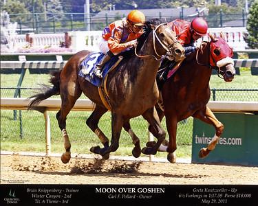 MOON OVER GOSHEN - 5/29/2011