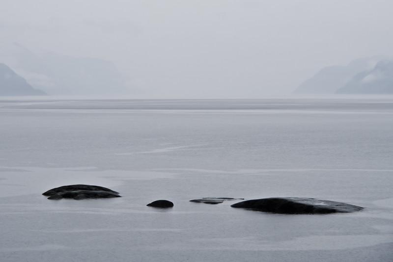 Pluie - Fjord du Saguenay