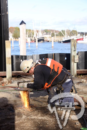 ROCK HARBOR — bulkhead repair — Orleans, MA 11 . 16 - 2016