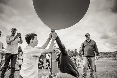 Hunter King Weather Balloon