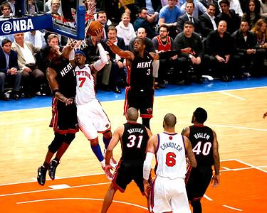 NY Knicks vs. Miami Heat Game 3 Playoffs 2012