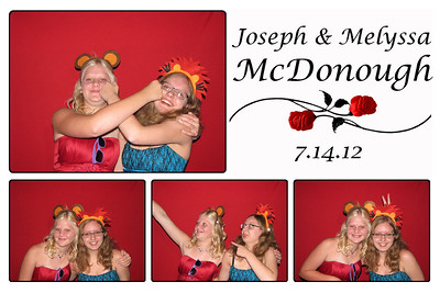 Joe and Melyssa Wedding Photo Booth
