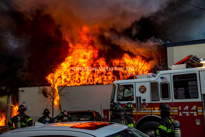 Queens 3rd Alarm Box 4302 128-20 14 Ave 1/21/19
