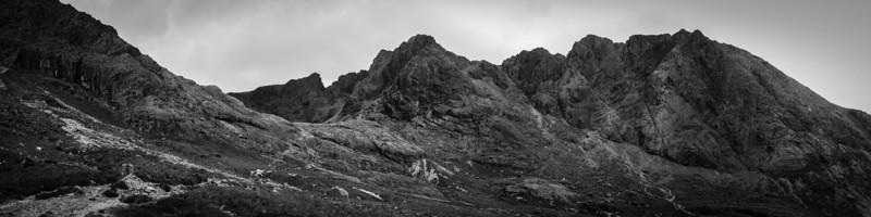Sgurr Alasdair on right, 992 meters high