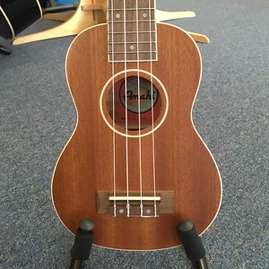 Amahi Soprano Ukulele with white binding