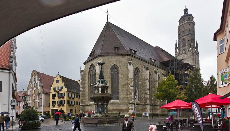 Nördlingen. St. Georg von Nordost
