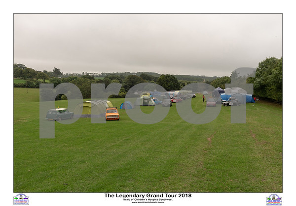 The Legendary Grand Tour 2018 - Campsite