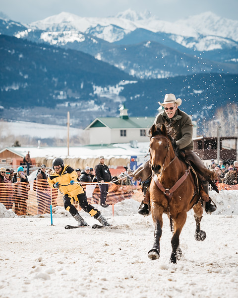 Gallatin Valley Skijoring