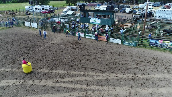 Sunday Glenwood Rodeo (Drone Videos Only)