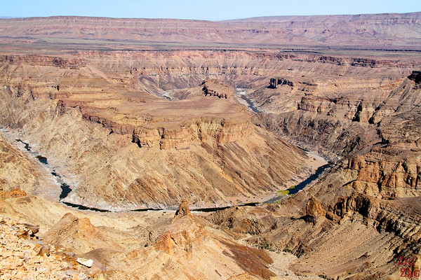 Best places to see Namibia: Fish River Canyon