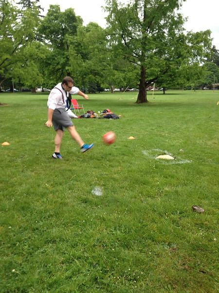 Recesstime Portland Kickball Dodgeball Bowling Ping Pong Mushball - 484