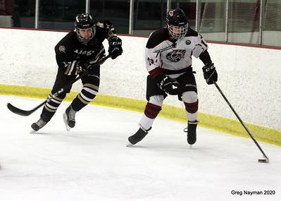 Andover v Maple Grove - 2020 OMGHA Girls High School Hockey by GMN