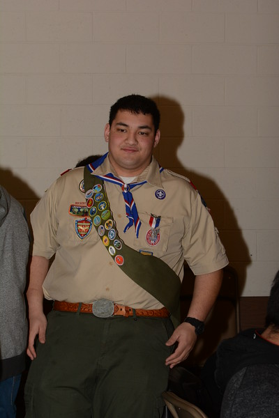 Nathaniel Seth Rippin Eagle Scout Court of Honor 1/11/15