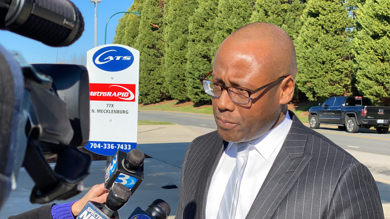 John Lewis - Chief Executive Officer of CATS - spoke at the dedication ceremony for MetroRapid - the new bus service that will utilize the toll lanes on I-77 at no additional cost to riders.