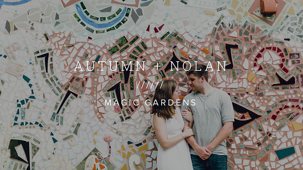 AUTUMN + NOLAN ////// MAGIC GARDENS
