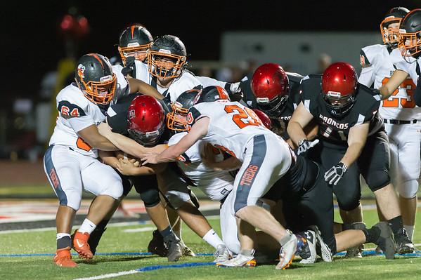 Roseville High School Varsity Football vs Bella Vista 10-25-19
