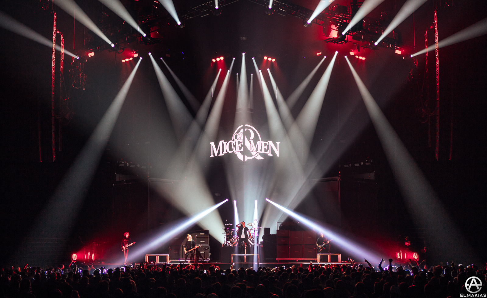 Of Mice & Men live at the Hunting Party Tour