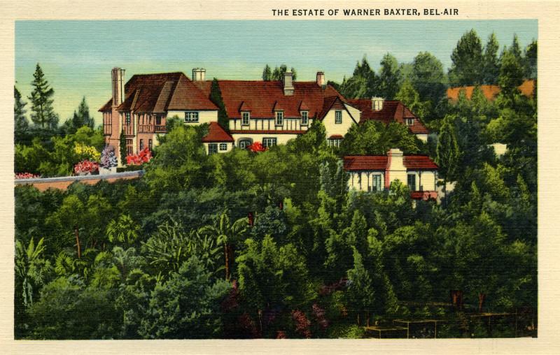 The Estate of Warner Baxter