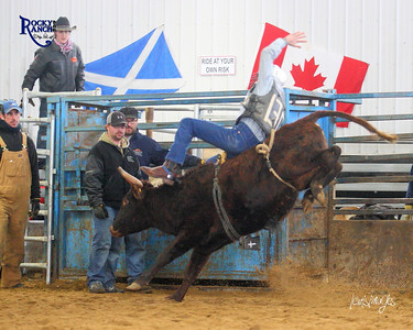 Rocky Bar Ranch Rough Stock Practice - Dec. 28/13