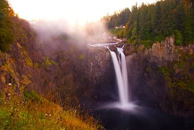 Snoqualamie Falls October