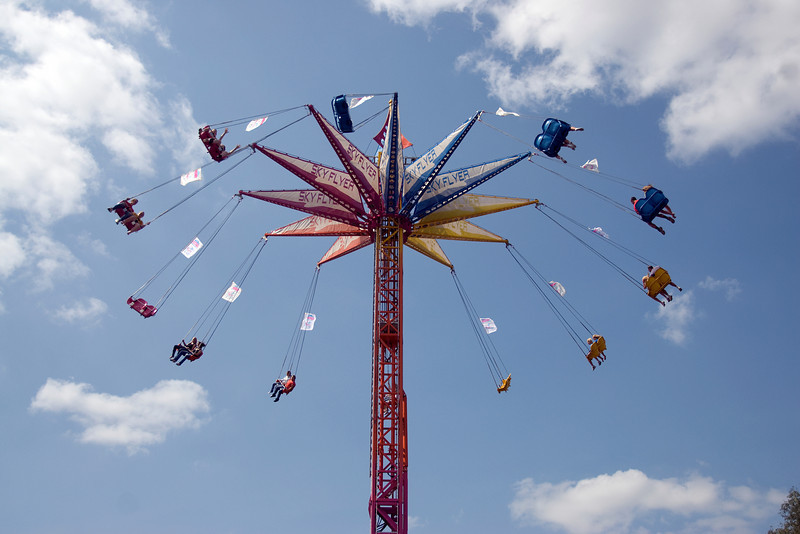 Sky Flyer ride at the 2009 Minnesota State Fair