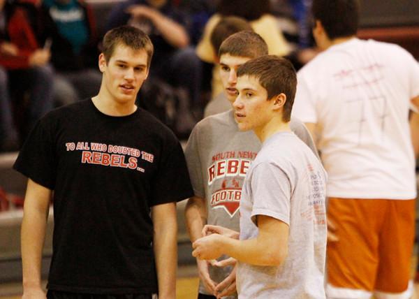 SNHS Boys Basketball vs Faculty 2012