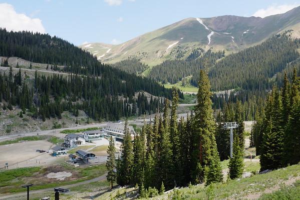 A-Basin Summit Hike