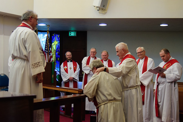 Rev Bill Baker Installation