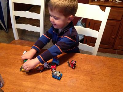Eli Loves Trucks