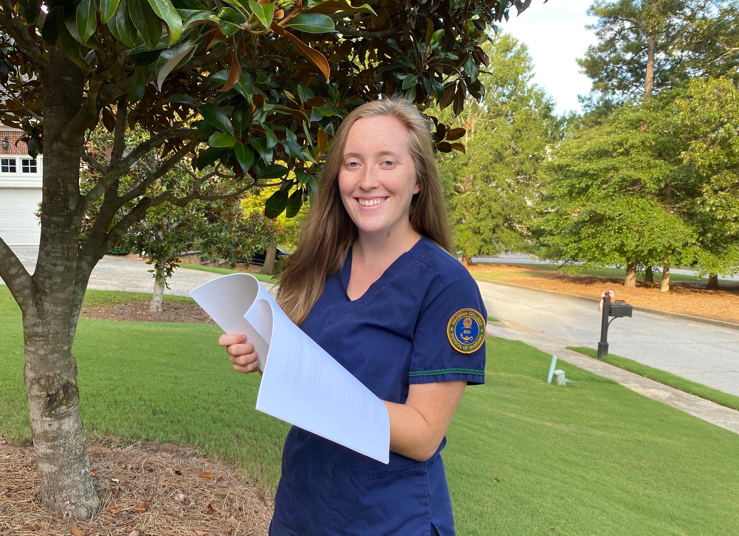 Abagail Ralston is ready to apply what she's learned from the online Chile study abroad program to nursing.