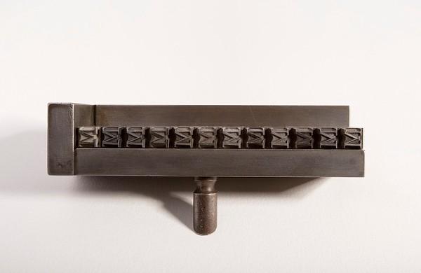 Engraver's and typefounder's tools - Strumenti dell'incisore e del fonditore