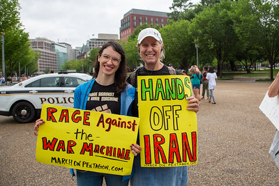 March on the Pentagon - No War on Iran - July 8