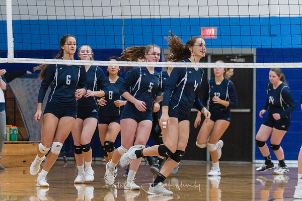 2019-11-08 Hillsdale Academy Varsity Volleyball - Districts