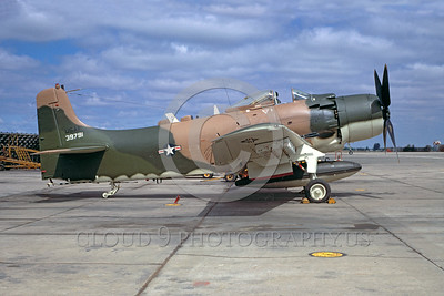 USAF Douglas A-1 Skyraider Military Airplane Pictures