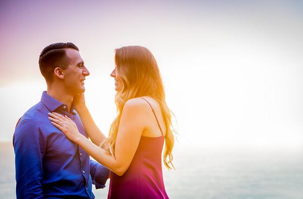 La Jolla proposal with James and Jenna