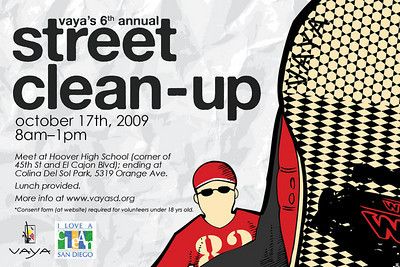 6th Annual VAYA Street Cleanup