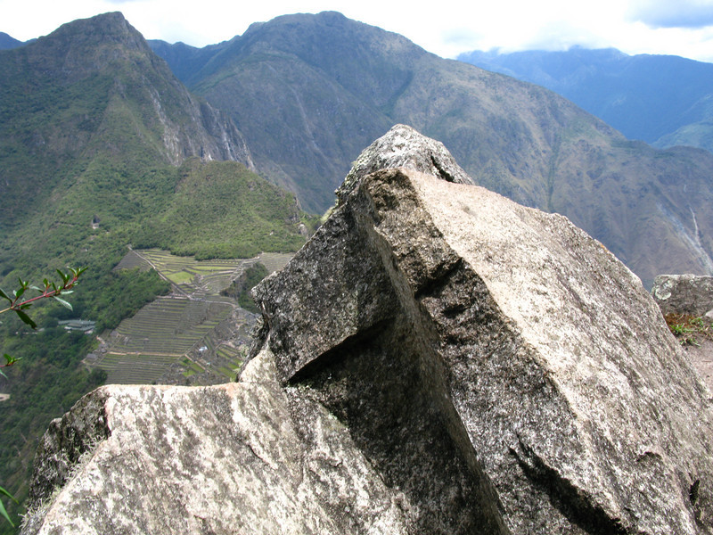 Waynu Picchu, scared shitless