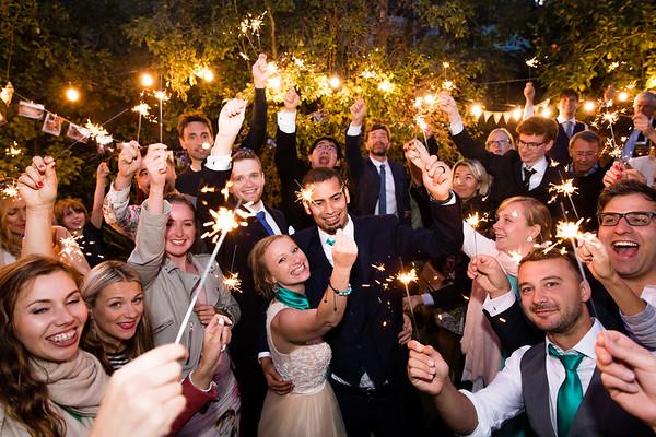 Tas & Peter's Surrey Wedding