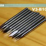 SKU: V3-B10E/30, Mimaki Compatible 23mm Length Blade 10 Pieces of 30° Blades