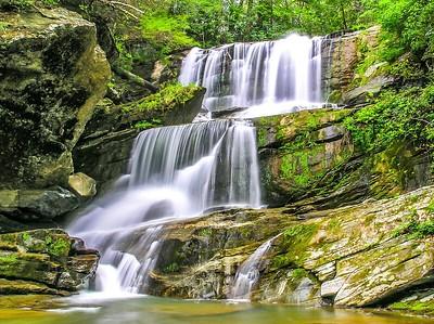Little Bradley Falls, NC