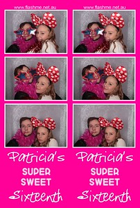Patricia's Super Sweet 16th - 25 June 2016