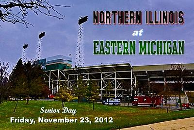 2012 Northern Illinois at Eastern Michigan (11-23-12)