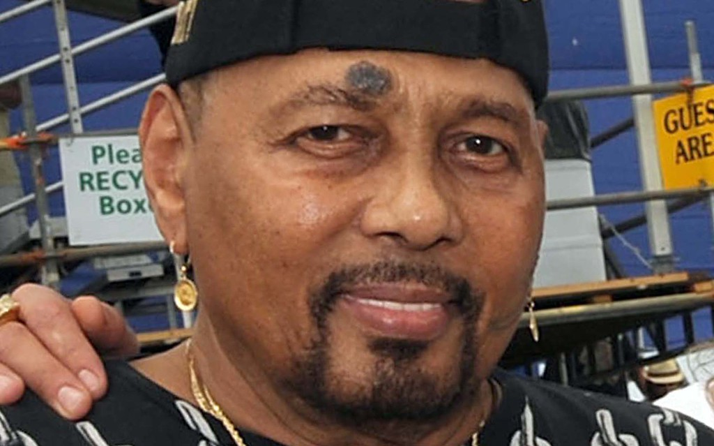 ". Another great singer turning 76 today: New Orleans-style R&B and soul master Aaron Neville of the Neville Brothers. Here\'s ""<a href=\""http://www.youtube.com/watch?v=fURYly0VbAQ\"" target=\""_blank\"">Yellow Moon</a>.\"" (Getty Images: Rick Diamond)"